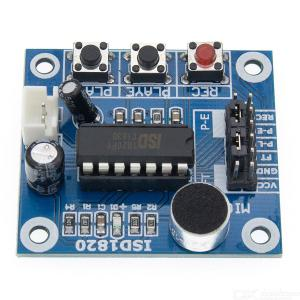 Isd1820 Voice Recording Module With Microphone and Audio Speaker