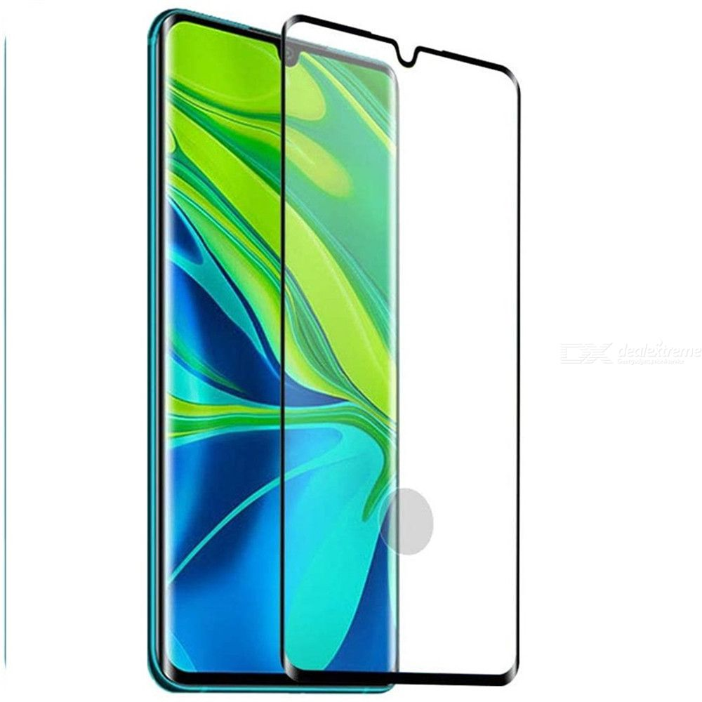 Dealextreme / Full Coverage Glass Screen Protector for Xiaomi Mi Note 10 Pro / Note 10 / CC9 Pro