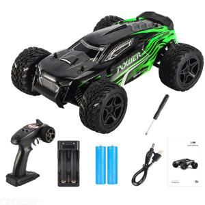 JJRC Q122-A Off-road Four-wheel Drive Climbing Vehicle Model 2.4G 4 Channels Splash Water Shockproof Anti-fall Fall Resistant