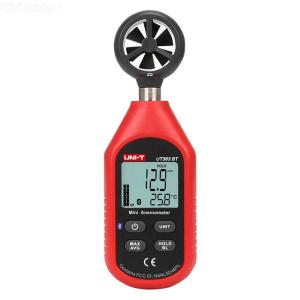 UNI-T  UT363BT Digital Anemometer Wind Speed Tester For High-precision Wind Power Measurement  Real-time Temperature Measuring
