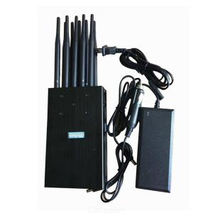American standard high power ten antenna portable mobile phone signal jammer