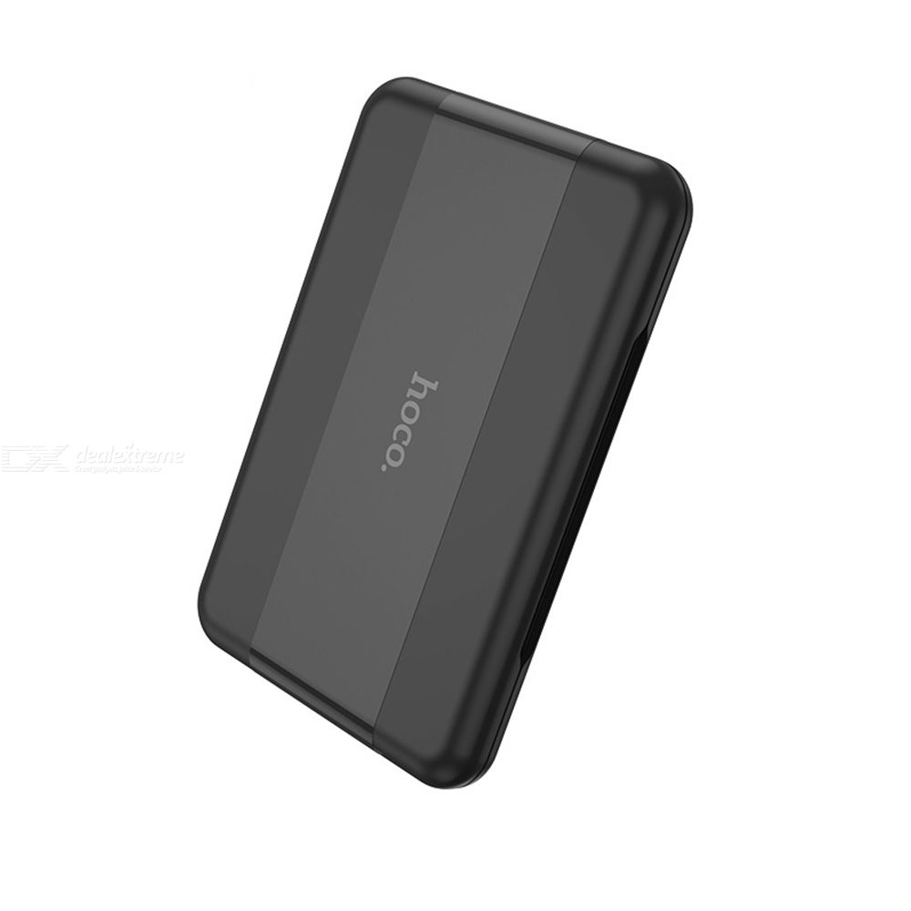 HOCO U86 Multi-function Universal Smart Adaptor Card Storage Box Portable 0.8cm  Data Cable Adapter Bracket Three In One