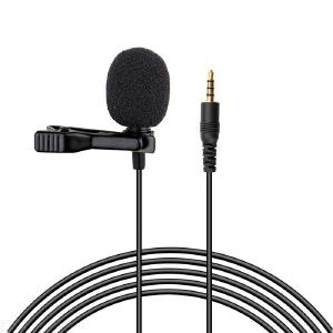 Clip-on Mobile Phone / Laptop Microphone Mini Live karaoke 3.5MM Microphone