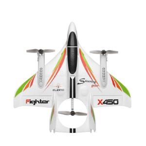 Wltoys XK X450 Multi- Functional Brushless Stunt Aircraft Vertical Takeoff And Landing Glider Remote Control Helicopters