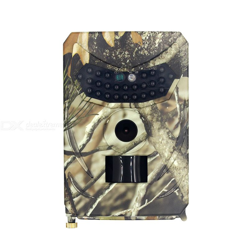PR100 Trail Camera 3MP Color CMOS PIR Infrared Anti-theft 15M HD 1080P