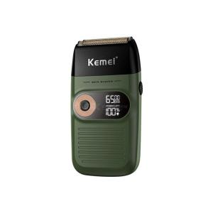Kemei KM-2026 Two-in-one Fine Steel Blade Shaver, Barber And Whitener LCD Display Lithium Battery Military Quality