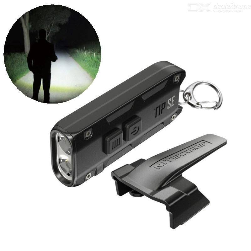 NITECORE TIP SE 700LM Rechargeable  Dual Light LED Keychain Flashlight