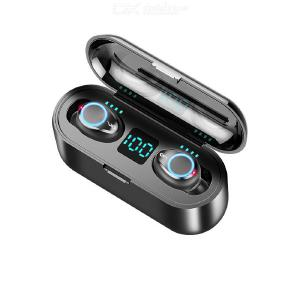F9 Bluetooth Earphone Wireless In-ear LED Power Display TWS Touch Control Noise Reduction Portable Waterproof