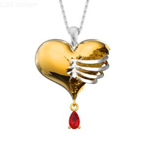 2020 New Creative Hollow Heart Necklace