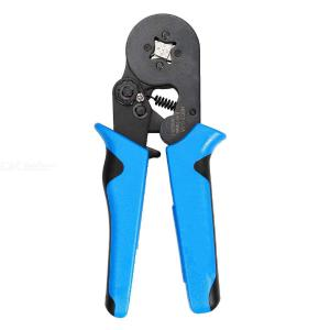 HSC8 6-4A 1200pcs Tube  Set Pliers Crimping Pliers European Crimping Tool Terminals Crimping Pliers 0.08-10mm²  Wire Stripper