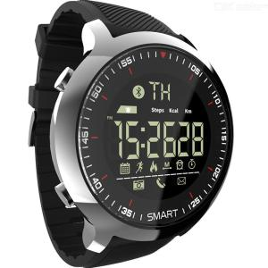 LOKMAT MK18 Smart Watch Bluetooth 4.0 Waterproof Dustproof Message Reminder Passometer 1.1inch