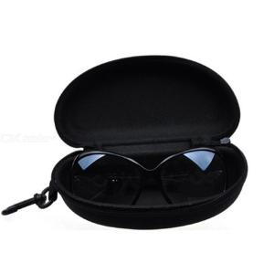 Eyewear Cases Classic Black Glasses Box Fashion Zippered Sports Glasses Bags Hard Sunglasses Case Pressure Resistance