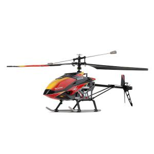 WL V913 RC Helicopters 2.4G LCD Remote Control 4 Channels Single Oar Drop Resistance Dual/three/four Battery Version