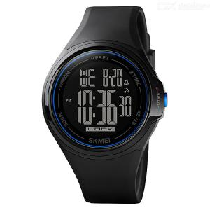 SKMEI 1602 Touch Screen Digital Men Watch Waterproof LED Light Alarm Clock Fall-Resistant Sport Watches Montre Homme