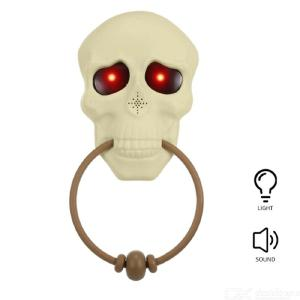 Halloween Doorbell Halloween Decorative Doorbell Skeleton Doorbell Decoration Skull Shape Doorbell Door Decorations