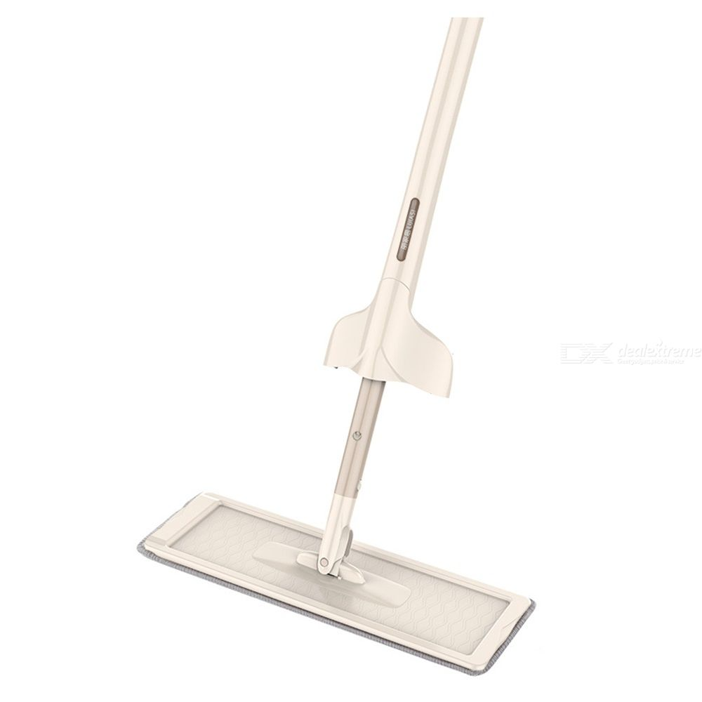 360 Degree Rotation Water Spray Mop Floor Cleaner Superfine Fiber Flat Mop No Hand Wash Wet Mopping Without Water Spots