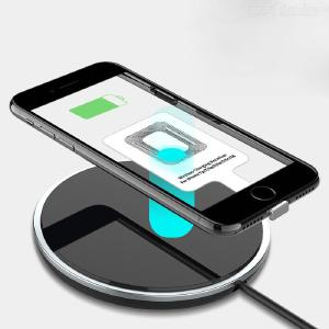 Qi Wireless Charging Transmitter Charger Adapter Receptor Receiver Pad Type-C Micro USB Kit For IPhone Xiaomi Huawei