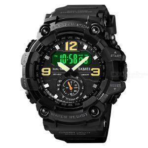 SKMEI 1637 Digital Watch Luminous Display Waterproof Shockproof Drop Resistant For Men