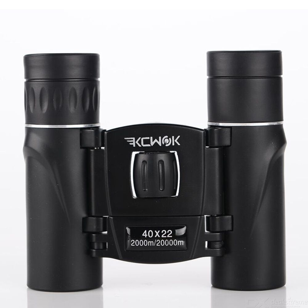 KCWOK Mini 40X22 Binocular Telescope Portable Handheld With Phone Holder