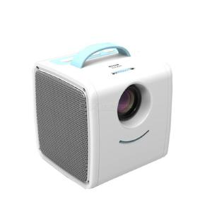 Household mini portable children projector mobile phone with screen small outdoor home theater