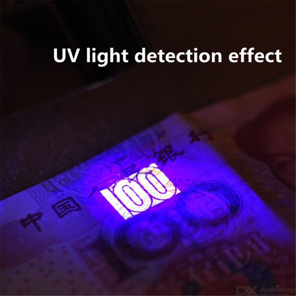 Metal frame 40x LED optical magnifying glass folding jewelry and jade identification with money detection lamp 9890