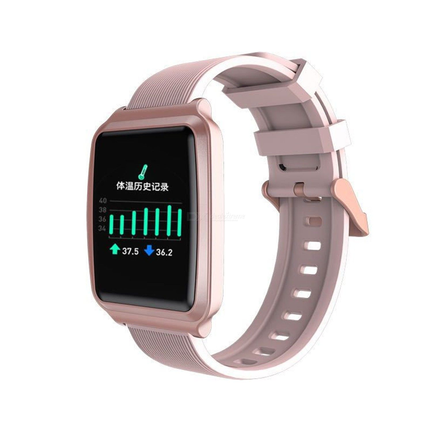 Y16 test body temperature information synchronous heart rate blood pressure sleep monitoring leisure sports health smart Bracele