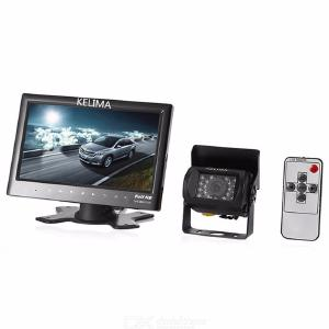 KELIMA 7-inch car monitor Bus onboard monitor + 18 infrared night vision bus reversing cameras and monitors