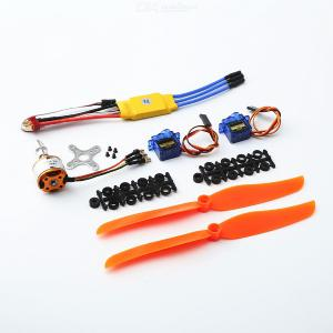 A2212 1400KV Brushless Motor 30A  ESC SG90 9G Micro Servo 8060 propeller for RC Fixed Wing Plane Helicopter