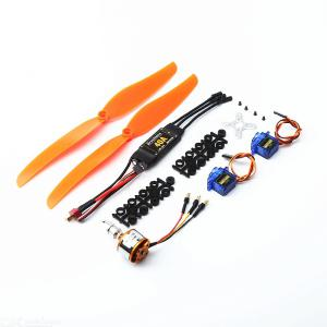 A2212 1000KV Brushless Motor 40A  ESC SG90 9G Micro Servo 1060 propeller for RC Fixed Wing Plane Helicopter