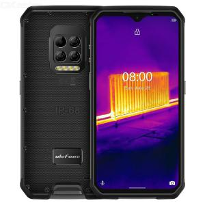 Ulefone Armor 9 Thermal Camera Rugged Phone Android 10 6.3 Inch Waterdrop Helio P90  8GB+128GB  6600mAh 64MP Camera Global Versi