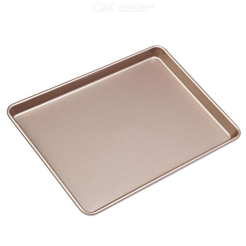 15inch Non-stick Bakeware Rectangle Carbon Steel Durable Smooth High Temperature Resistance