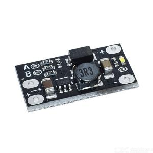 Mini DC-DC Impulse Step Up Converter 3v 3.2v 3.3v 3.7v 5v 9v to 12v Voltage Regulator Pcb Board Module Can Adjust 5v / 8v / 9v