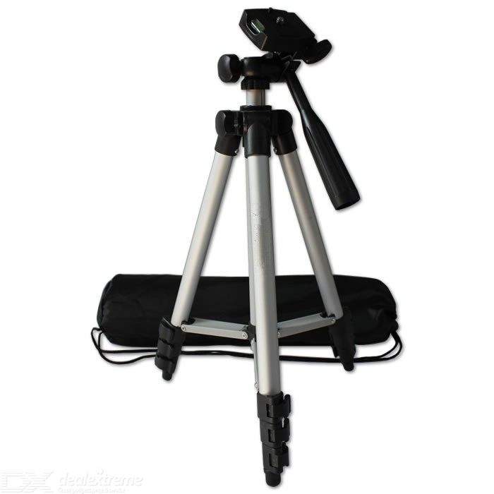 Portable Lightweight Aluminum bracket for projector Camera Tripod 3110 Rocker Arm Carry Bag Universal Flexible Professional