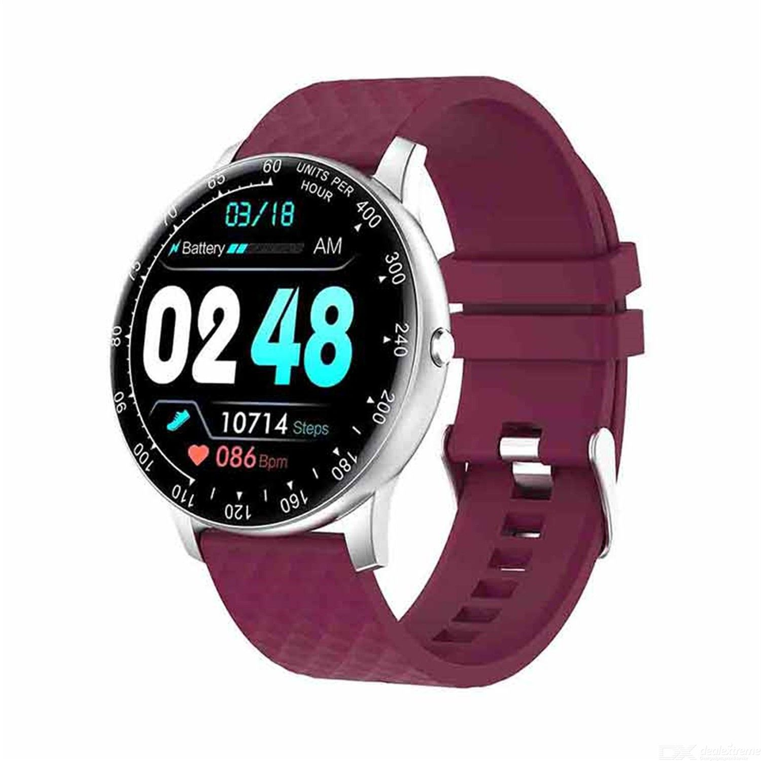 H30 custom dial off screen long bright step heart rate and blood pressure monitoring health exercise smart Watch