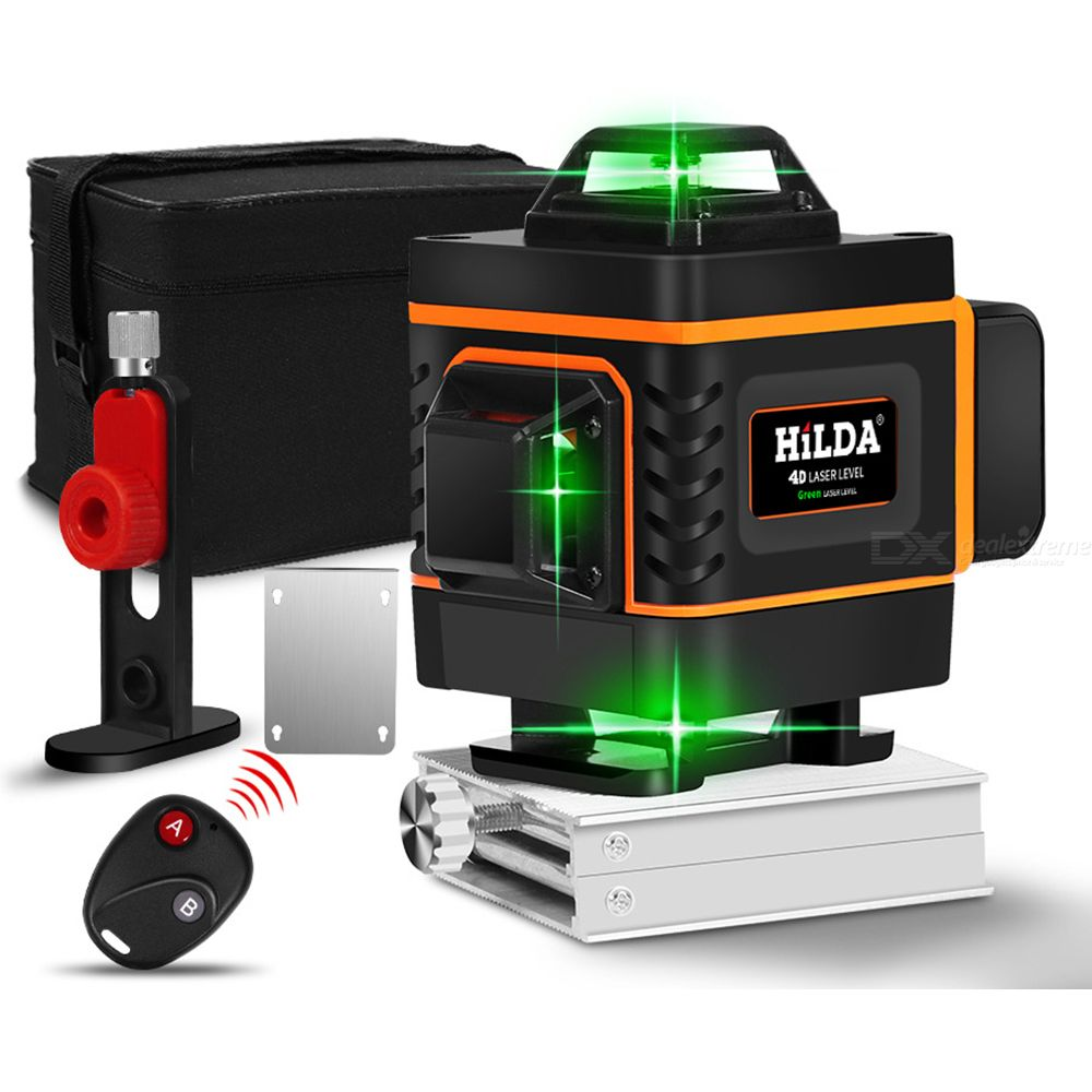 HILDA Laser Level 16 Lines 4D Green Light High Precision Automatic Wire Bonding