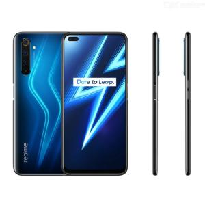 Realme 6 Pro Mobile Phone 6.6 Inches 90Hz Pro Display Qualcomm Snapdragon 720G 4300mAh Battery Capacity 6GB RAM 128GB ROM