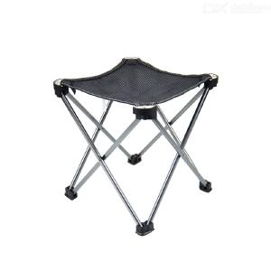 Outdoor Lightweight Chair Foldable Fishing Chair Multi-functional Small Size Camp Chair Outdoor Tools Aluminum Alloy