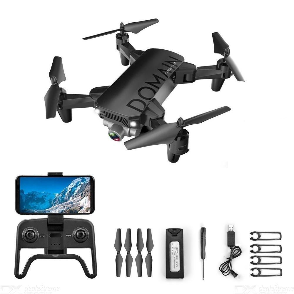 R7 RC Quadcopter without Camera Folding Drone Height Positioning Mini Drone Toy
