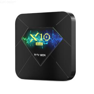 X10mini Android 10 TV-Box Allwinner H313 Quad-Core-wifi BT Smart TV X10 Android 10.0 X10 Mini-Top-Box Medien Spielset