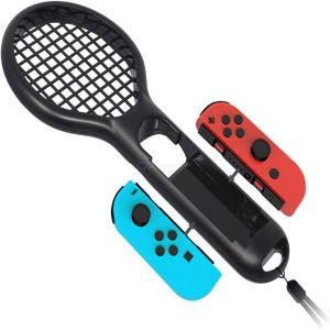 Switch tennis racket Switch small handle tennis racket Mario game grip Mario tennis racket