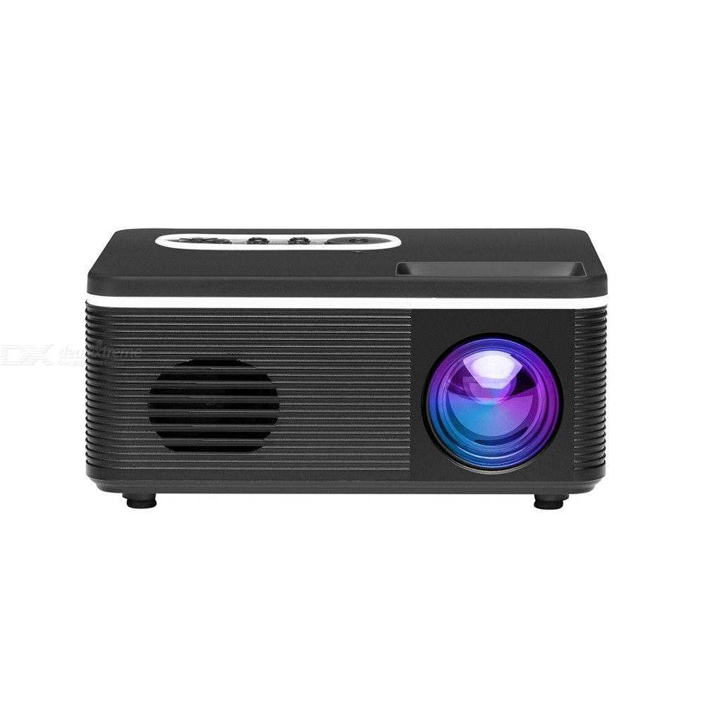 HD Mini Projector LED Android WiFi Projector Video Home Theater 3D HDMI Movie Game S361 Projector Portable Mini Entertainment