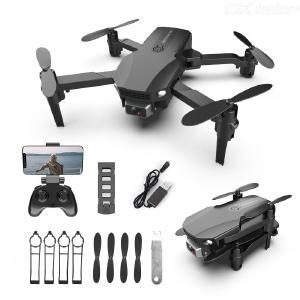R16 Mini Drone Foldable Portable 4K HD Camera Wear Resistance Scratch Resistance Multi-electric Version Colorful Package