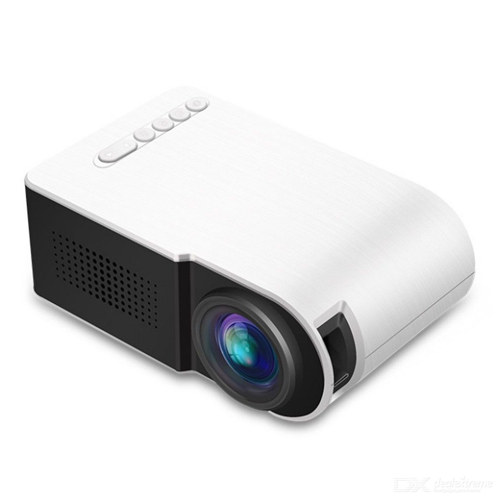 YG210 Mini Projector Beamer For Home Travel Built-in HD Speaker 1080P HDMI HD Video Signal Portable Projectors Proyector