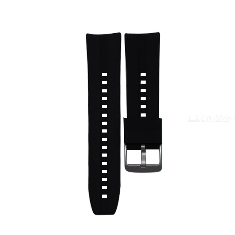 22mm Universal Silicone Watchbands High Strength TPU Rubber Watch Bands With Stainless Steel Buckle Soft Rubber Watch Band