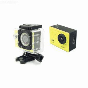 Action Camera 4K HD Camera Digital Small Portable Waterproof 2inch LCD Screen 2.4G Wireless 10m