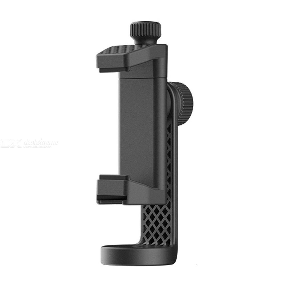 Ulanzi Phone Tripod + Vertical Bracket Smartphone Mount Holder Cold Shoe Phone Clip Clipper Tripod Adapter for iPhone Samsung