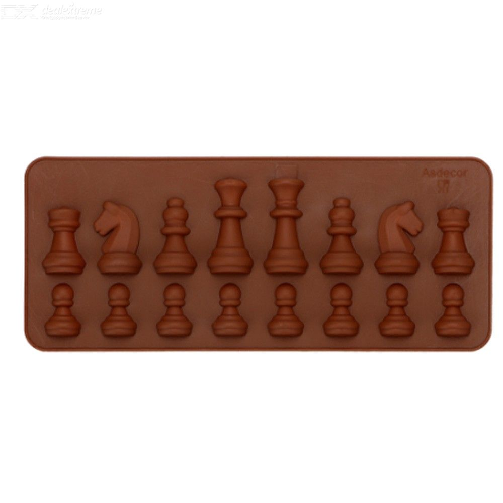 Chess Shaped Bakeware DIY Baking Mould Chocolate Mold Kitchen Accessories Ice Sugar Cake Mould Silicone