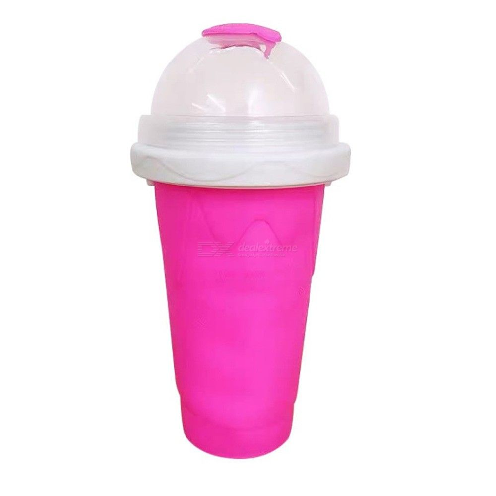 Quick-frozen Smoothies Newly Durable Slushy Ice Cream Maker Squeeze Slush Quick Cooling Cup Milkshake Bottle Smoothie Cup Drop