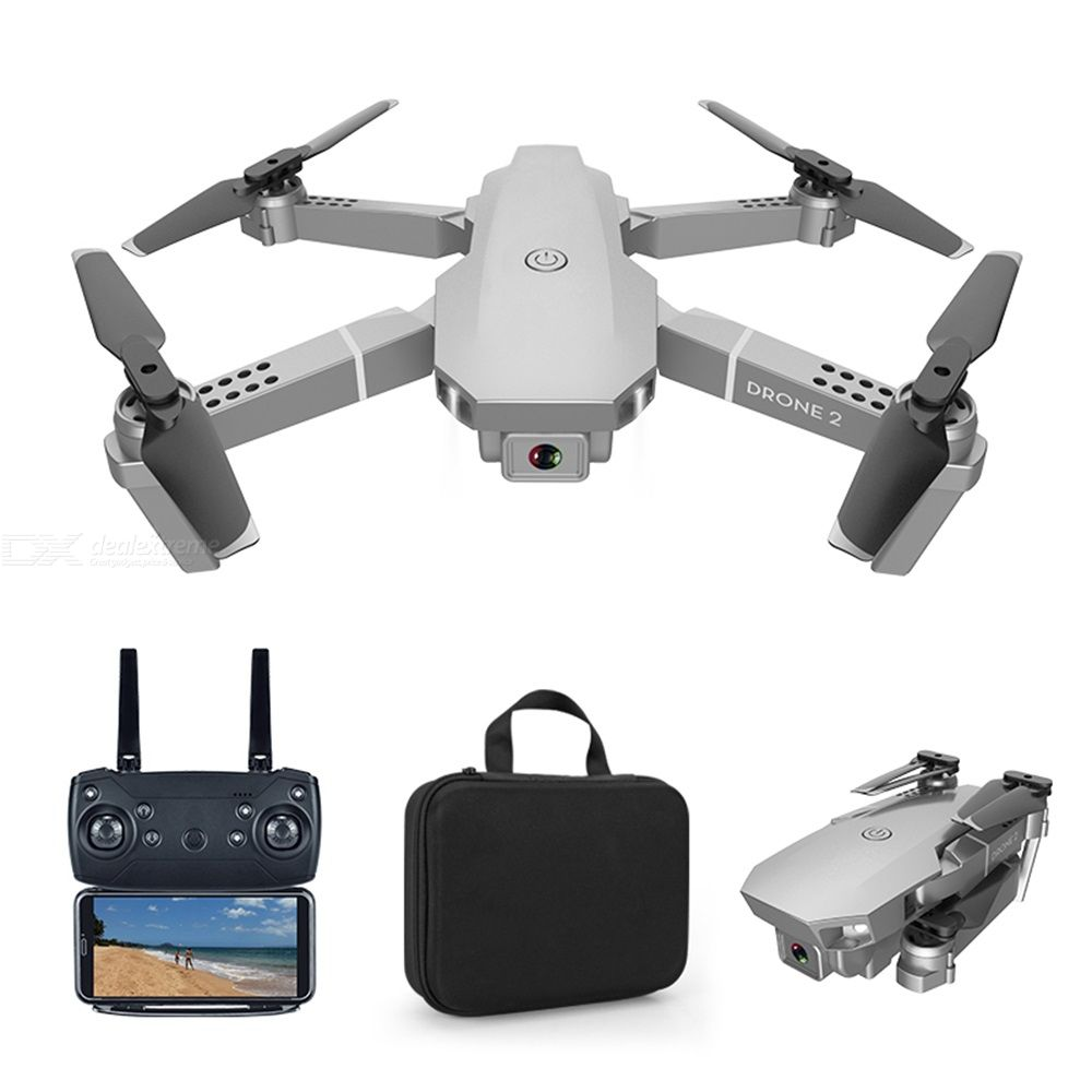 E68 Pro Foldable Drone Four Axis 4K HD Camera Portable 2.4G Remote Control Handbag Packaging Dual/three/four Electric Version