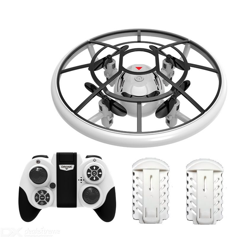 Tile Toys S122 Mini Drone Four Axis Colorful Lights Foldable Fall Resistance Dual/three/four Electric Version